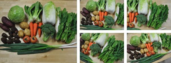 11月23日発送分の九州野菜セット